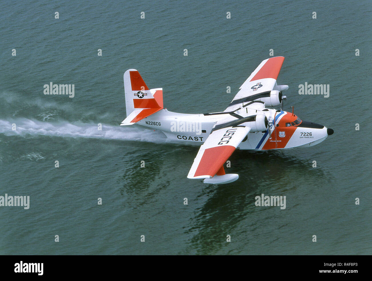 Grumman Albatross Airplane Stock Photo
