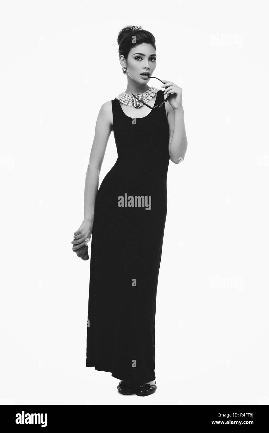 Beautiful fashion girl - Stock Image