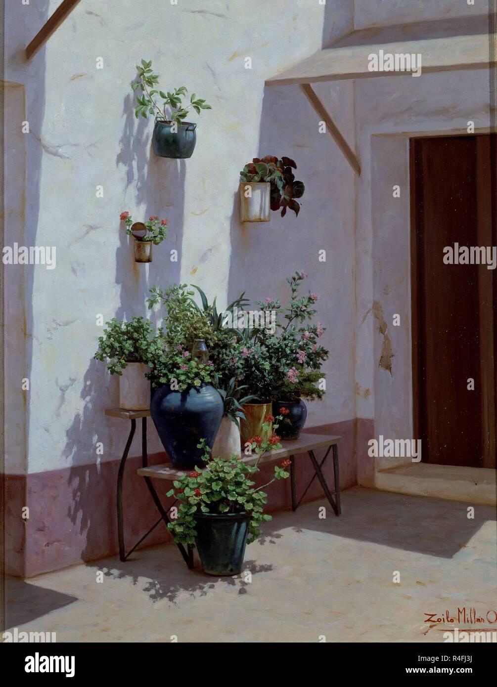 Patio Andaluz Stock Photos Patio Andaluz Stock Images Alamy