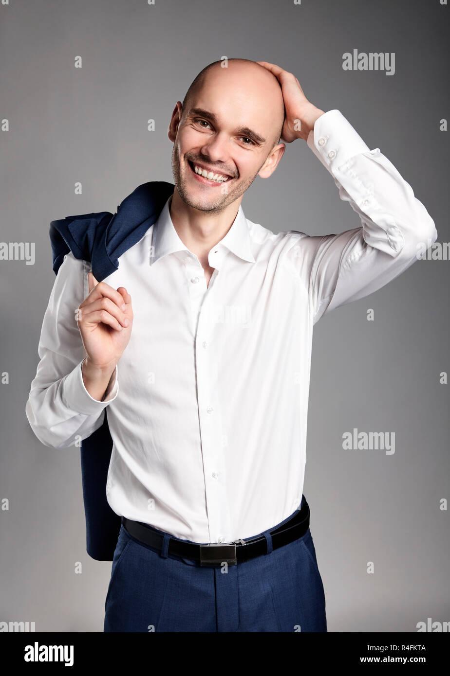 Cheerful Man - Stock Image