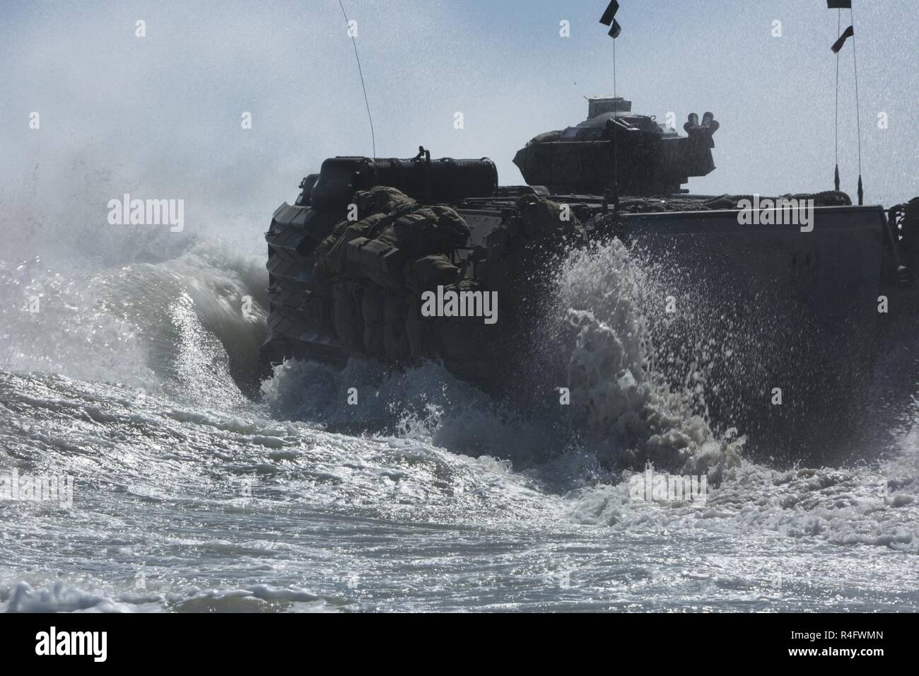 Aav7a1 Assault Amphibious Vehicle Stock Photos Aav7a1 Assault