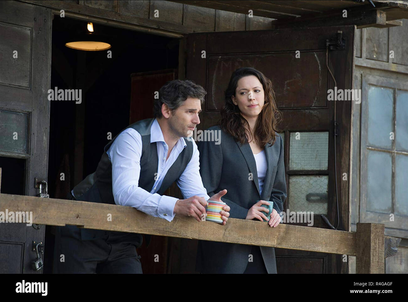 CLOSED CIRCUIT 2013 Working Title film with Rebecca Hall and Eric Bana - Stock Image
