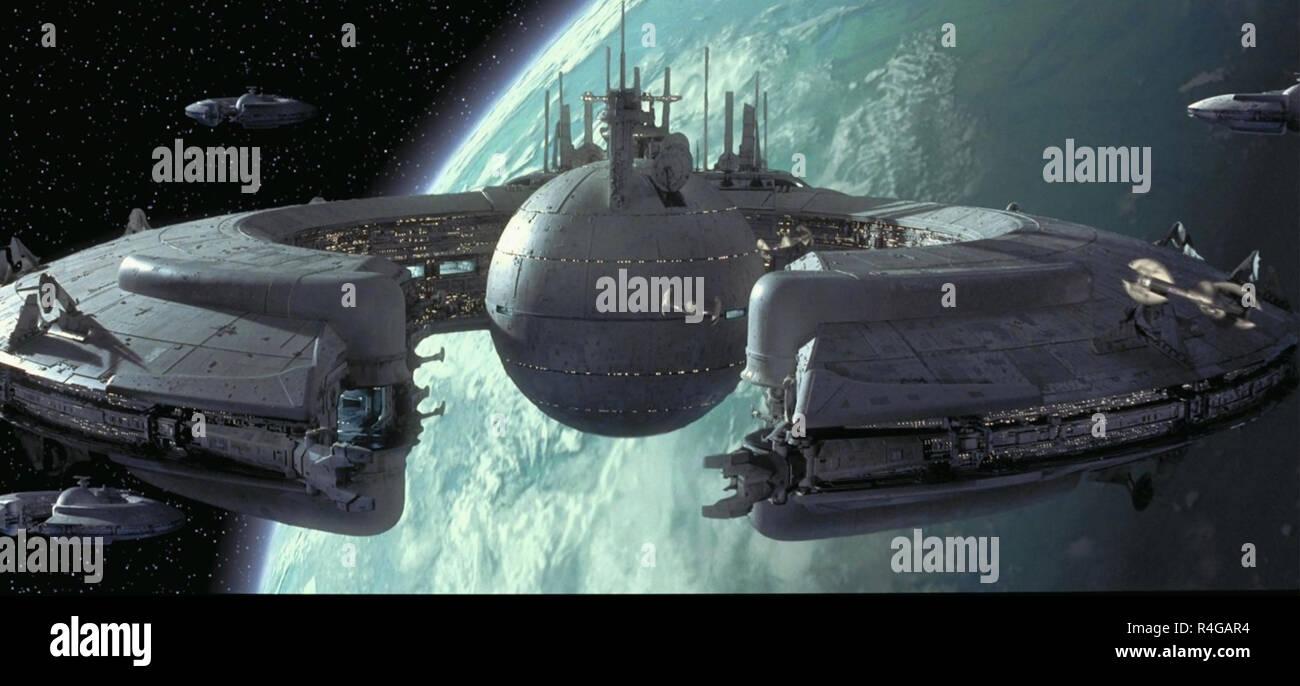 STAR WARS: EPISODE 1 - THE PHANTOM MENACE 1999 Lucasfilm production - Stock Image