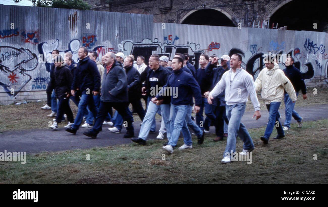 THE FOOTBALL FACTORY 2004 Vertigo Films production - Stock Image