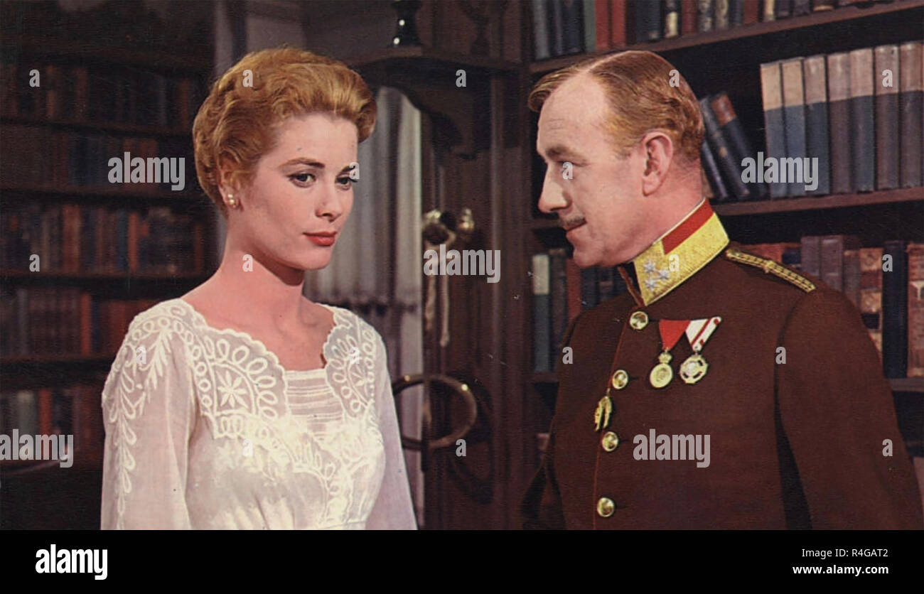 THE SWAN 1956 MGM film with Grace Kelly and Alec Guiness - Stock Image