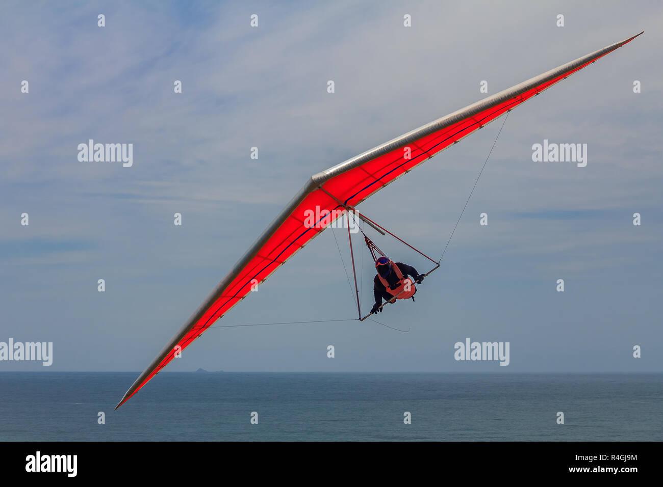 Hang Gliding California Stock Photos & Hang Gliding