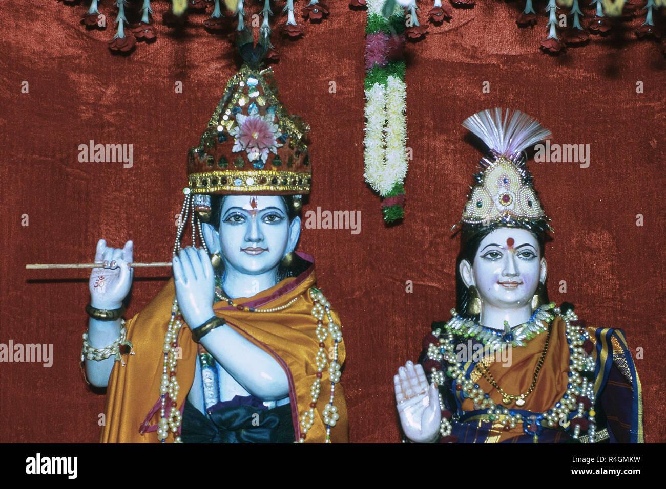 Lord Krishna Idol Stock Photos & Lord Krishna Idol Stock