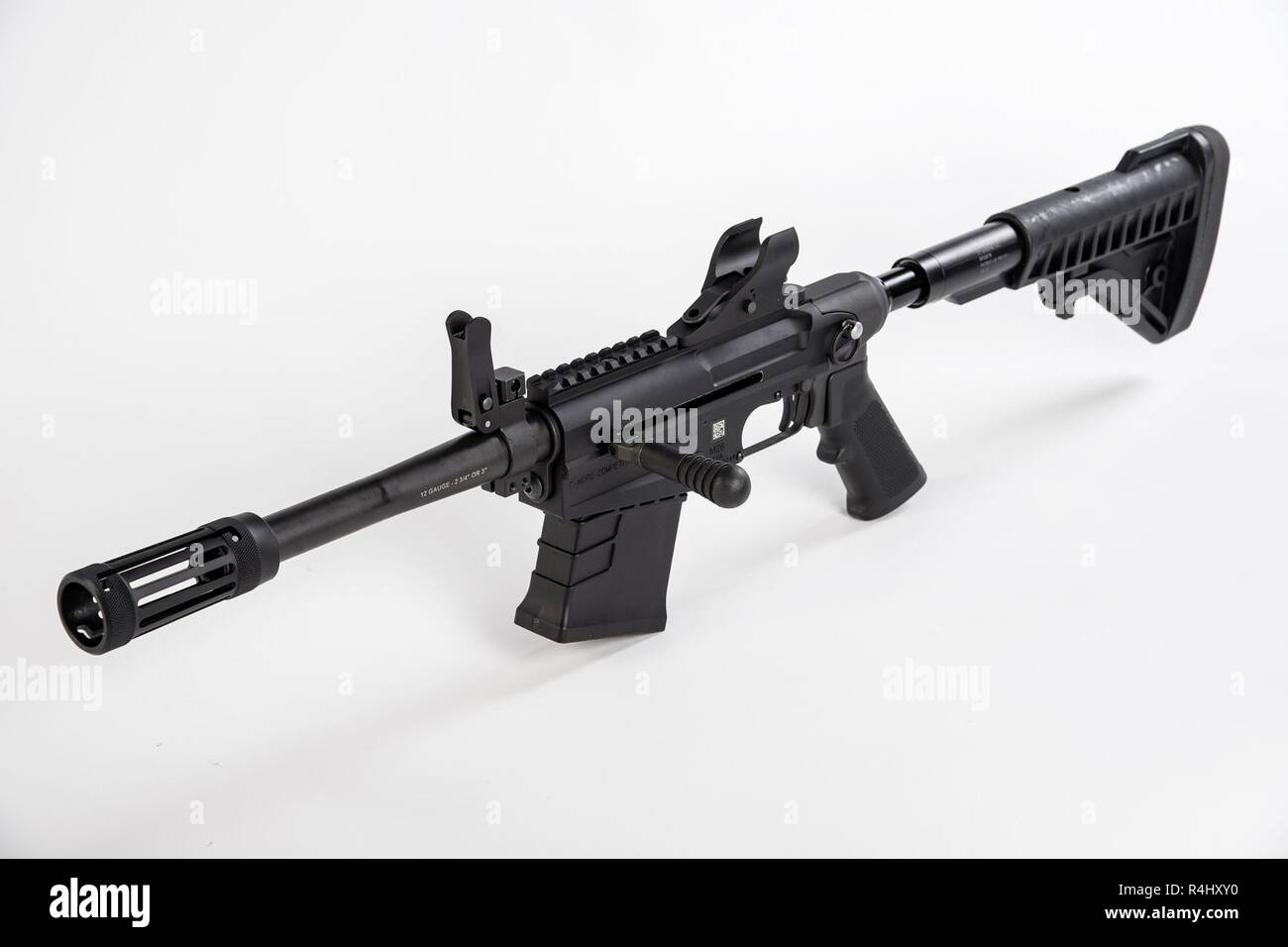 The M26 Modular Accessory Shotgun System (MASS) is a developmental