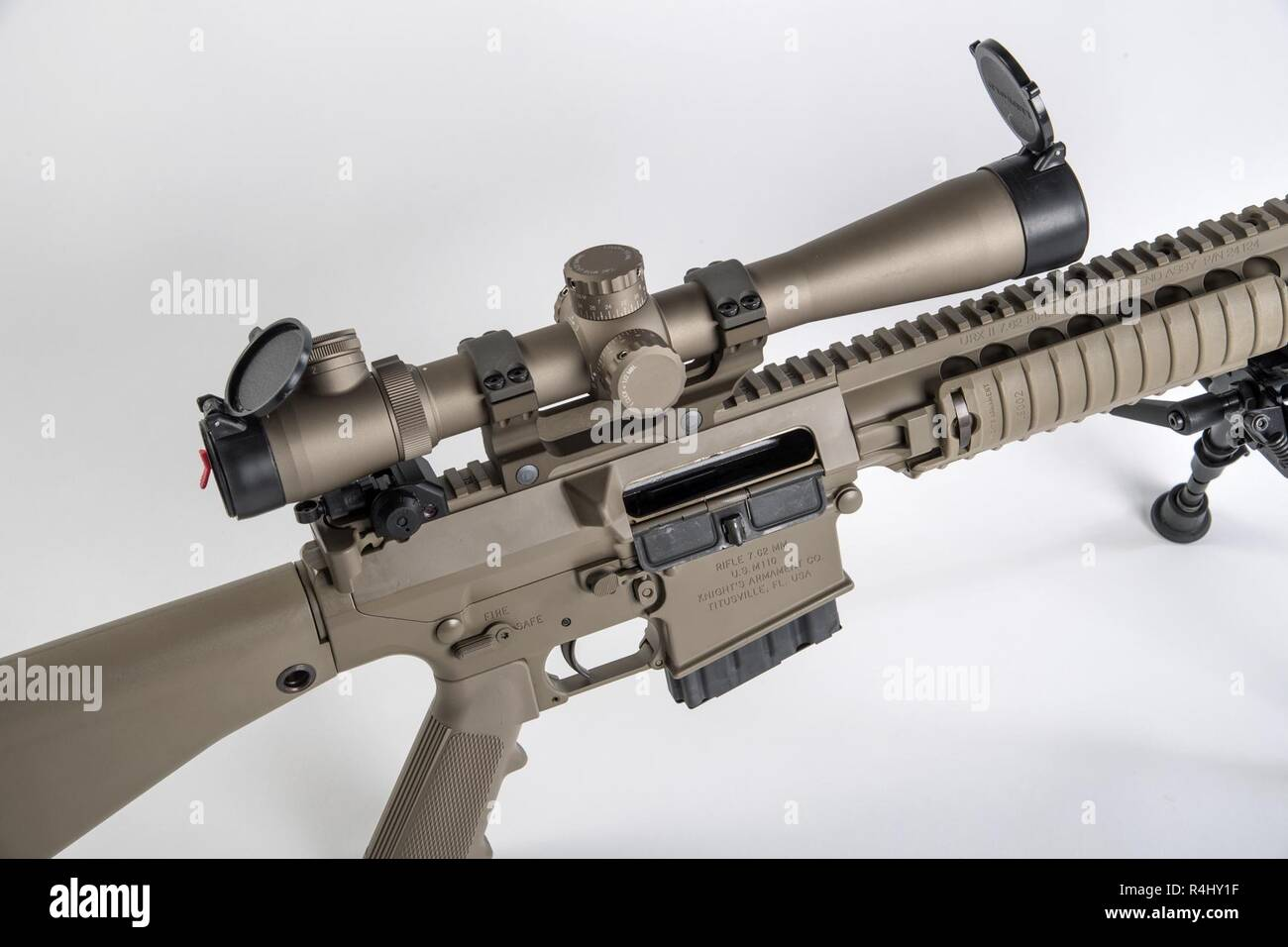 Semi Automatic Sniper Rifle Stock Photos & Semi Automatic