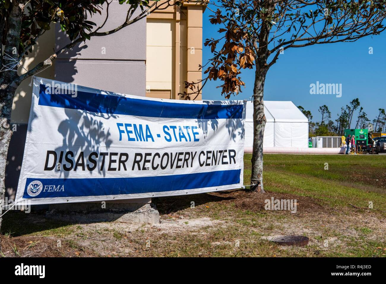 Panama City, FL , Oct  29, 2018--A disaster recovery center
