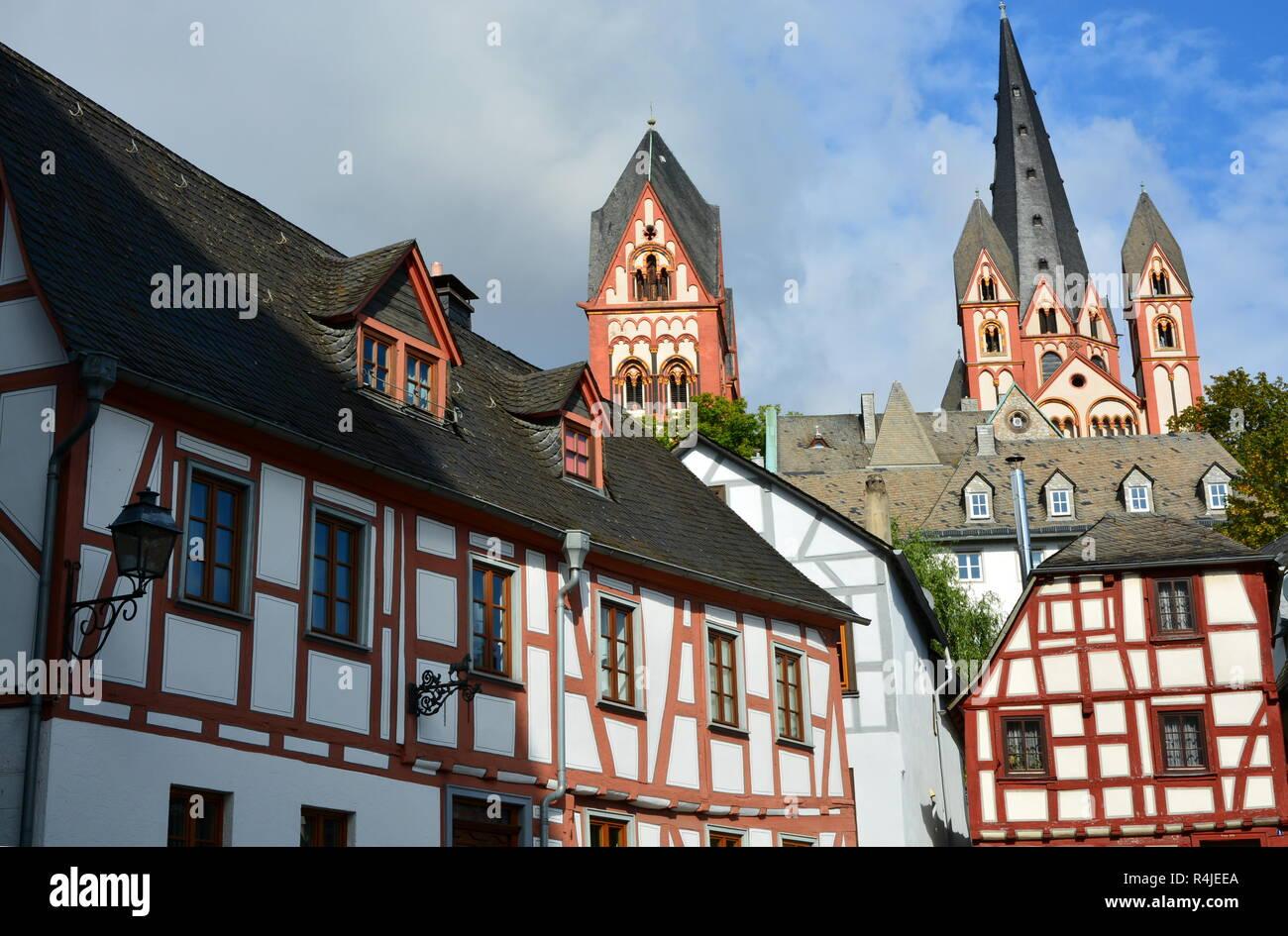 old town limburg an der lahn Stock Photo