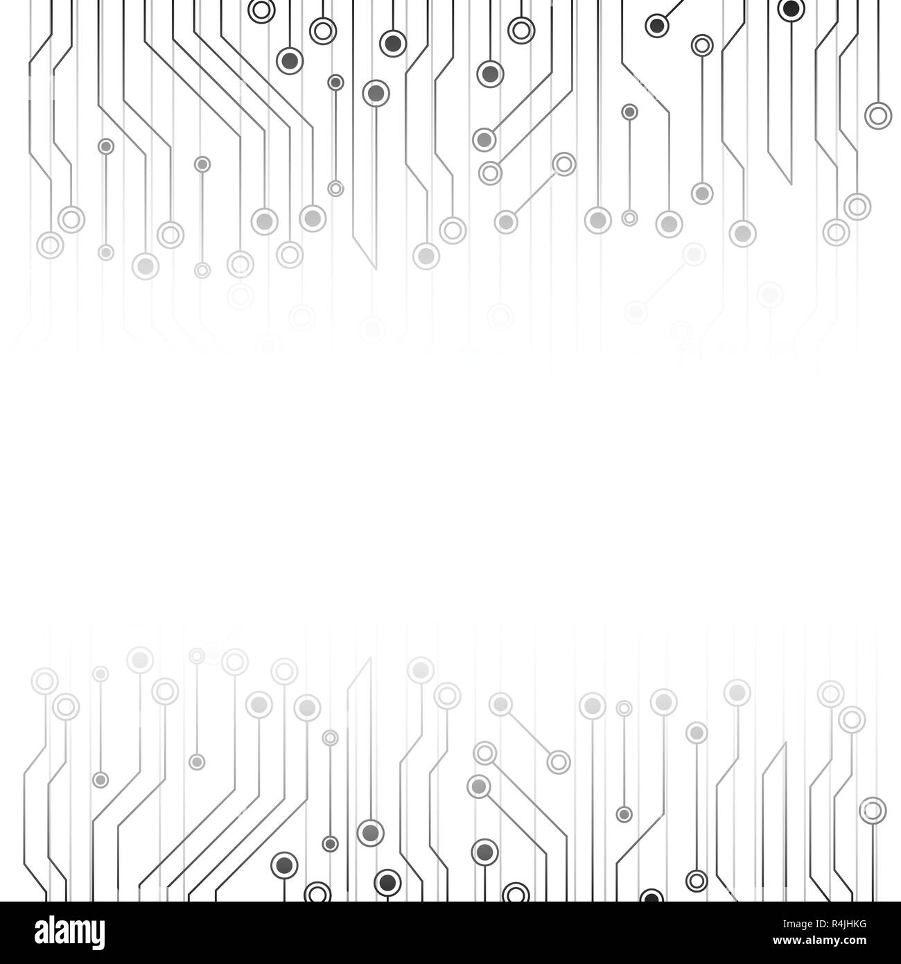 White Abstract Background With Electronics Circuit Board Grey Abstract Futuristic Technology And Texture Concept Communication Line System Theme Stock Vector Image Art Alamy