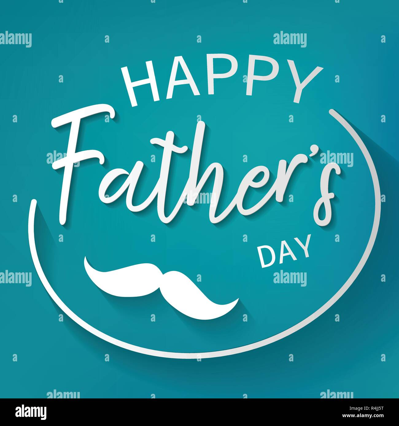 Happy Father Day Graphic Design Background Decoration And