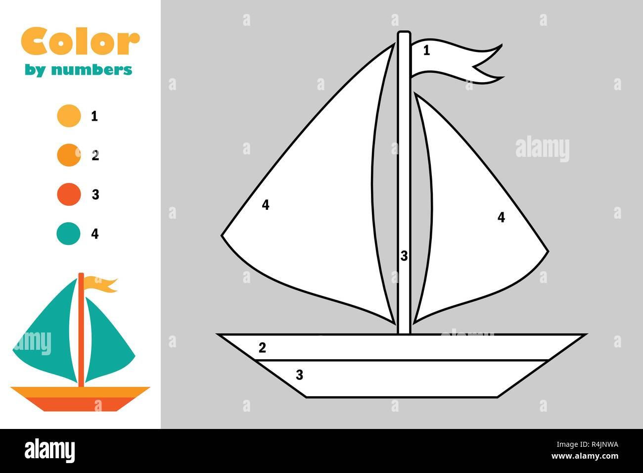 Sailboat Coloring Page - Coloring Home | 956x1300