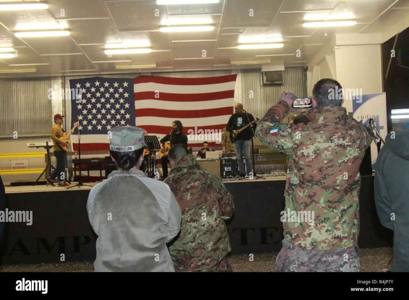 CAMP BONDSTEEL, Kosovo -- Soldiers, civilians, Kosovar