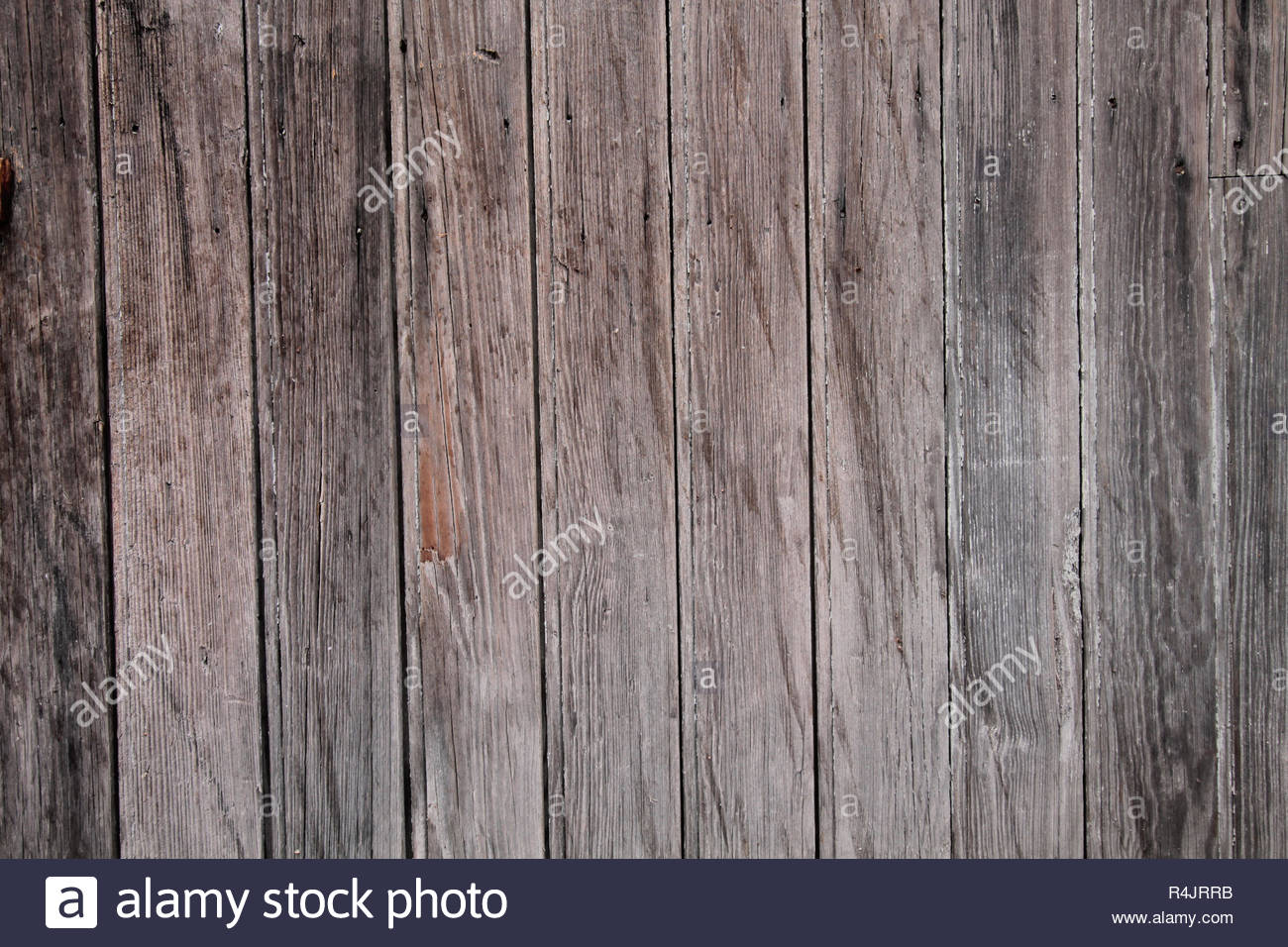 Old brown wooden planks texture background. - Stock Image