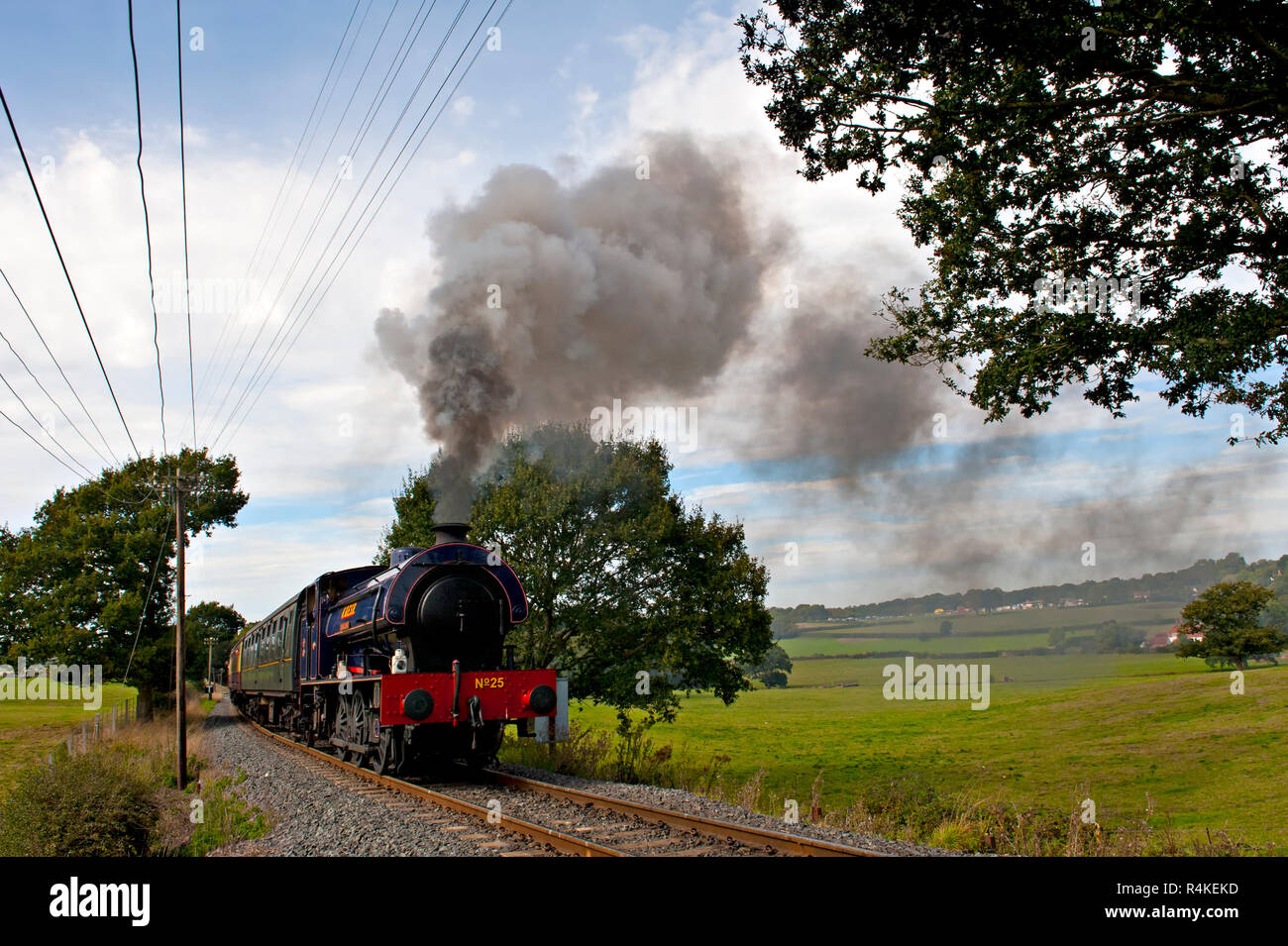 tenterden steam train