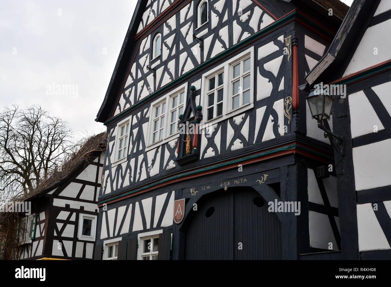 tenth house jockgrim Stock Photo