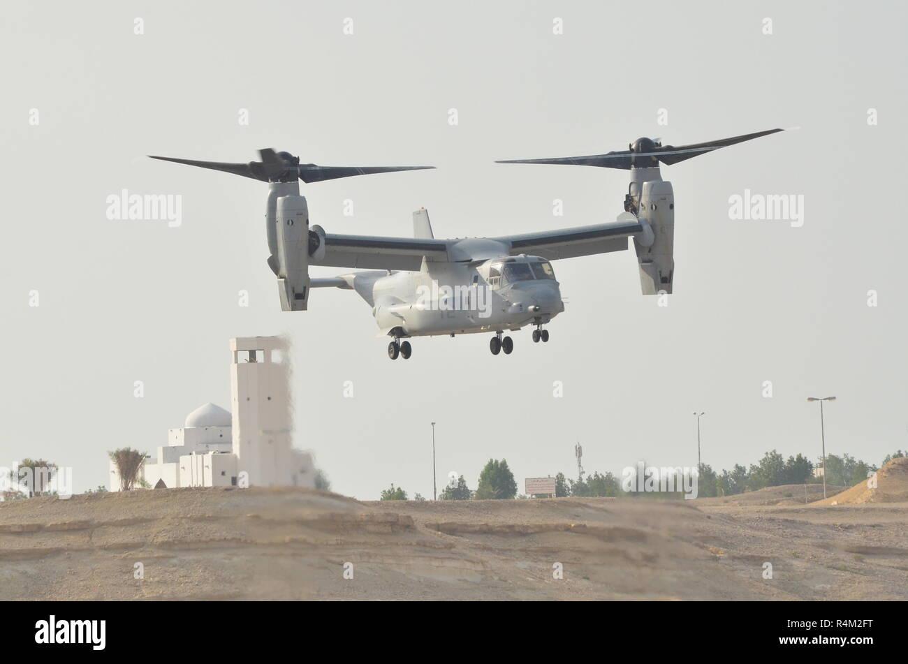 Bell Boeing MV22 Osprey Tiltrotor Stock Photo