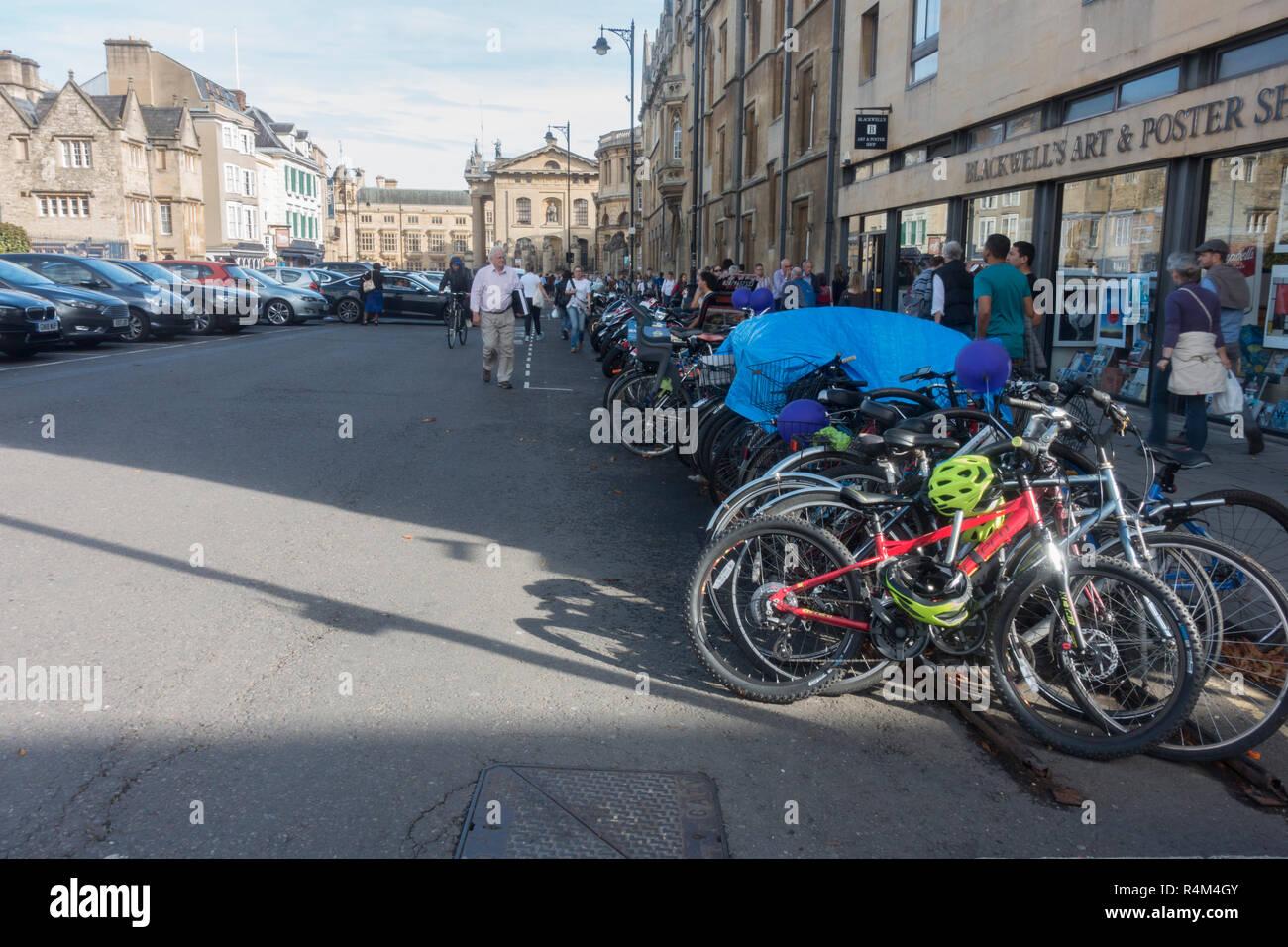 Oxford city centre, England - Stock Image