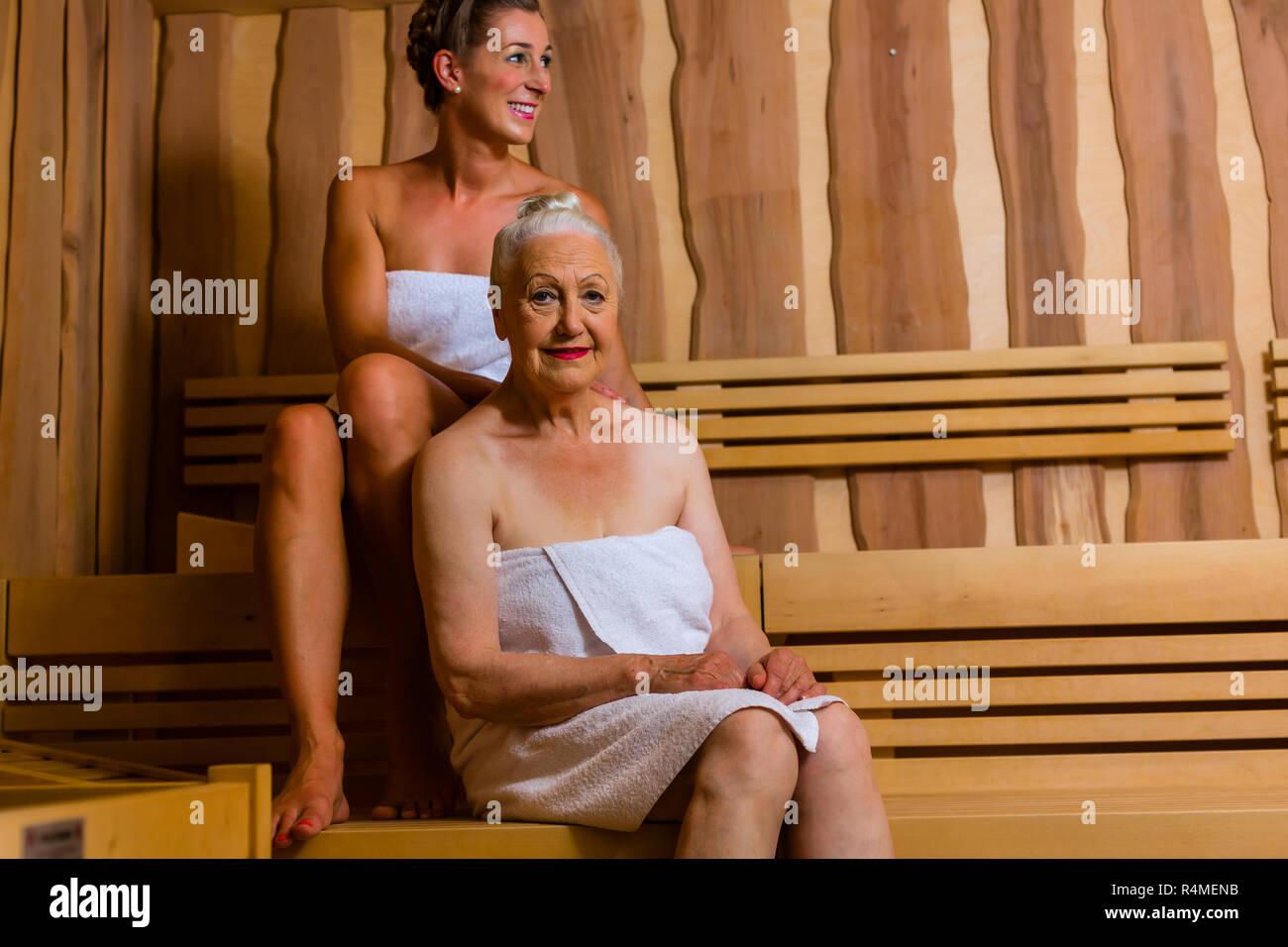 Старухи в бане фото