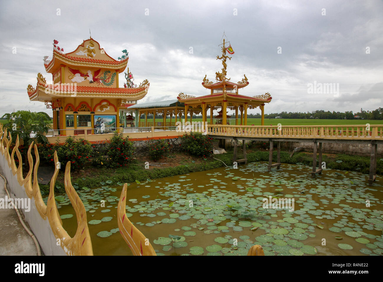 Anh Hung Toc, Anh Giang province - Stock Image