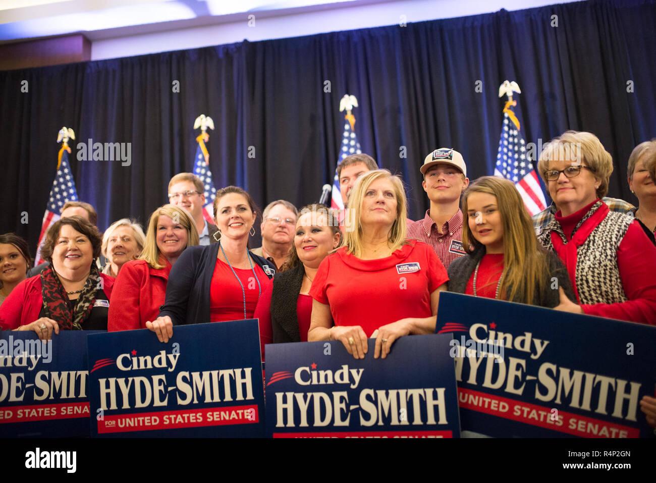 Jackson, Mississippi, USA  27th Nov, 2018  Runoff Election