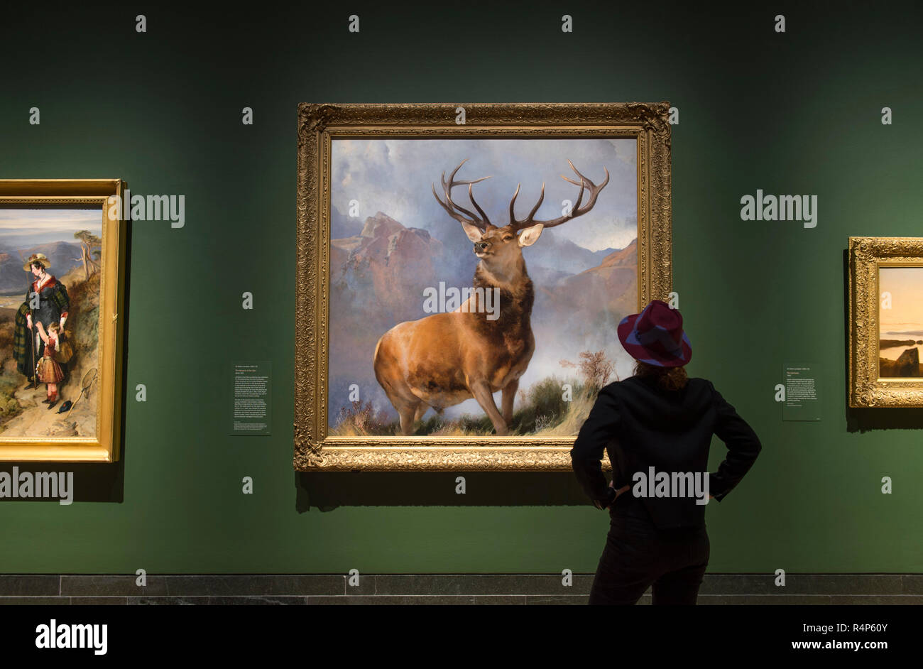 Image of: Mythical Creature The National Gallery London Uk 28 November 2018 Display Of Film And Photographs By Artist Rachel Maclean Titled The Lion And The Unicorn Alamy The National Gallery London Uk 28 November 2018 Display Of