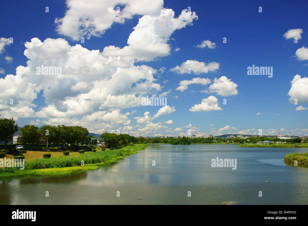 Summer Cumulonimbus - Stock Image