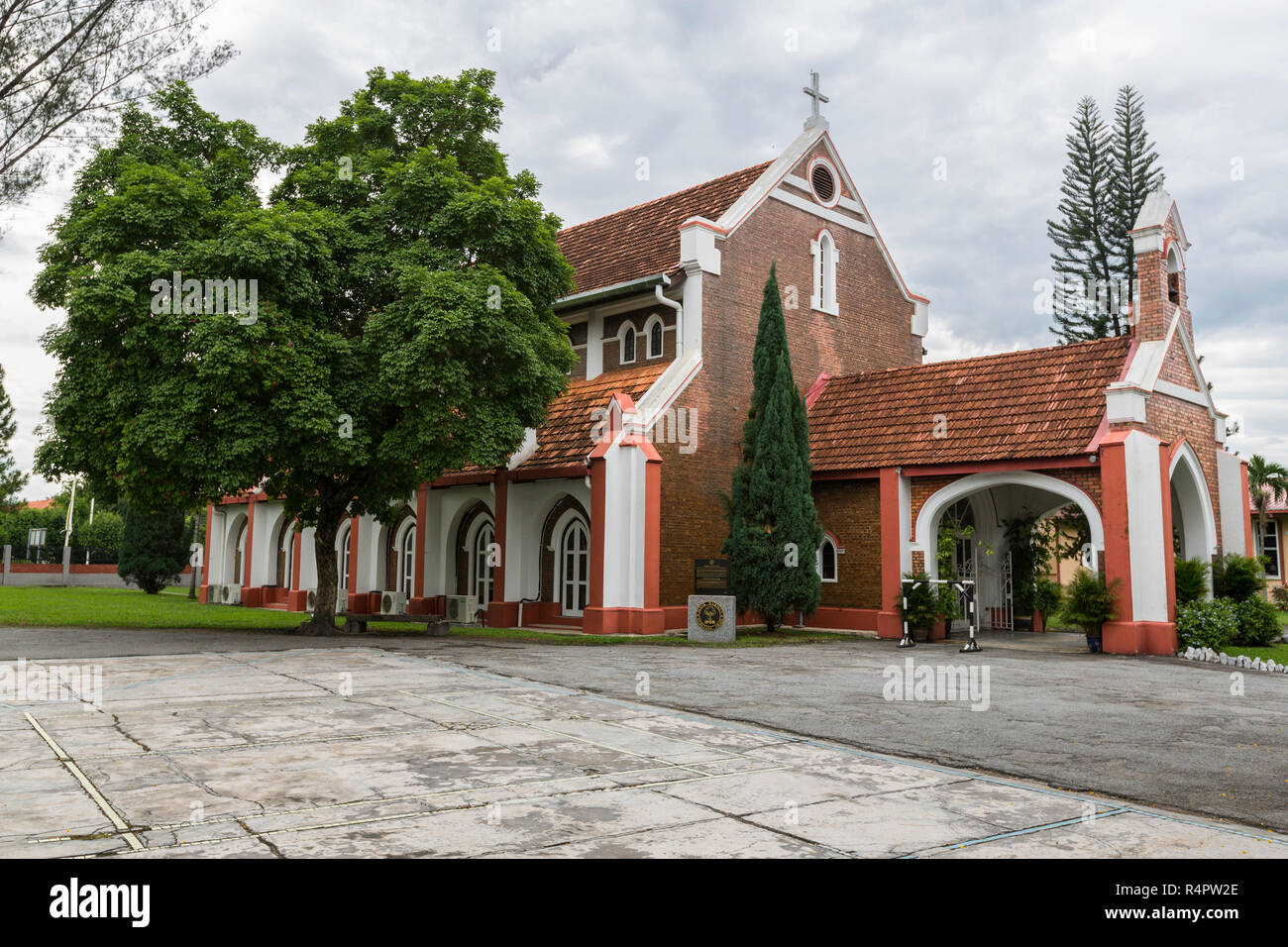 Church of St. John the Divine, Heritage Trail, Ipoh, Malaysia. - Stock Image