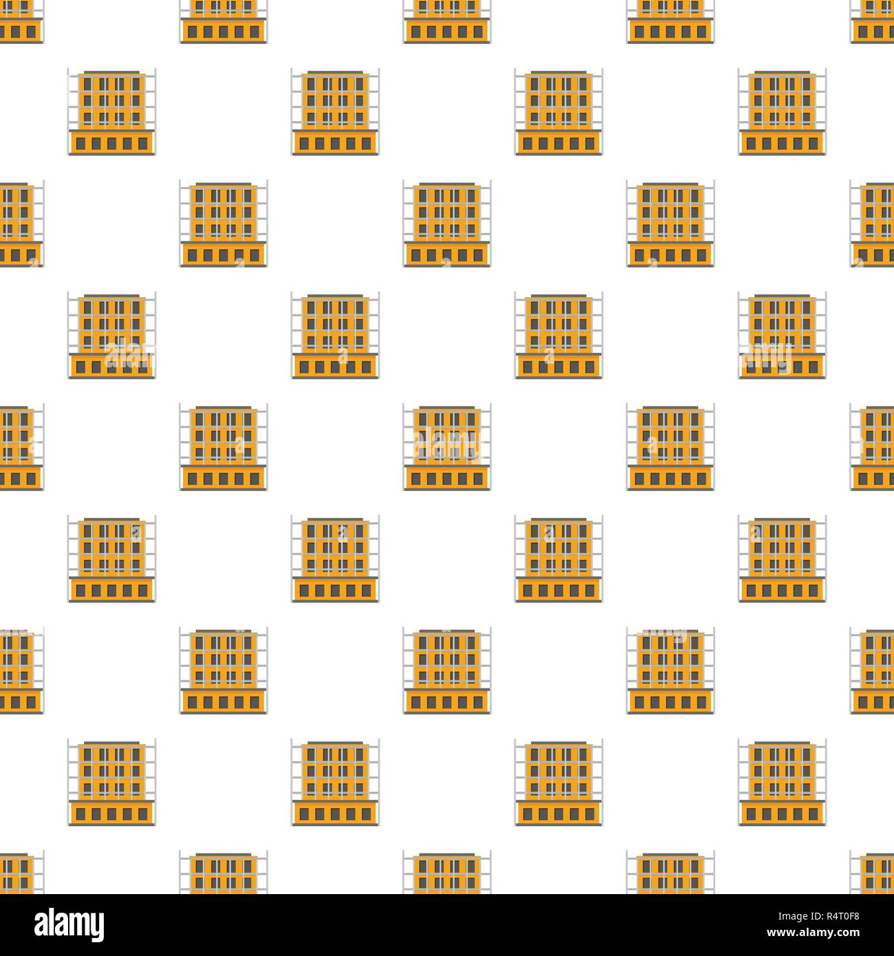 Scaffolding pattern seamless vector repeat for any web design - Stock Vector