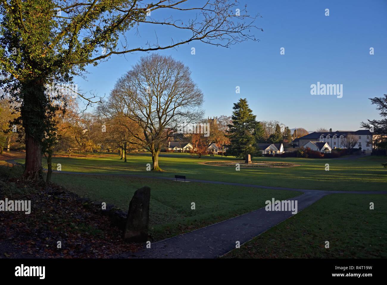Nobles Rest public park, Kendal, Cumbria, England, United Kingdom, Europe. - Stock Image