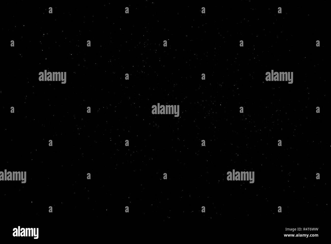 Starry night sky - Stock Image
