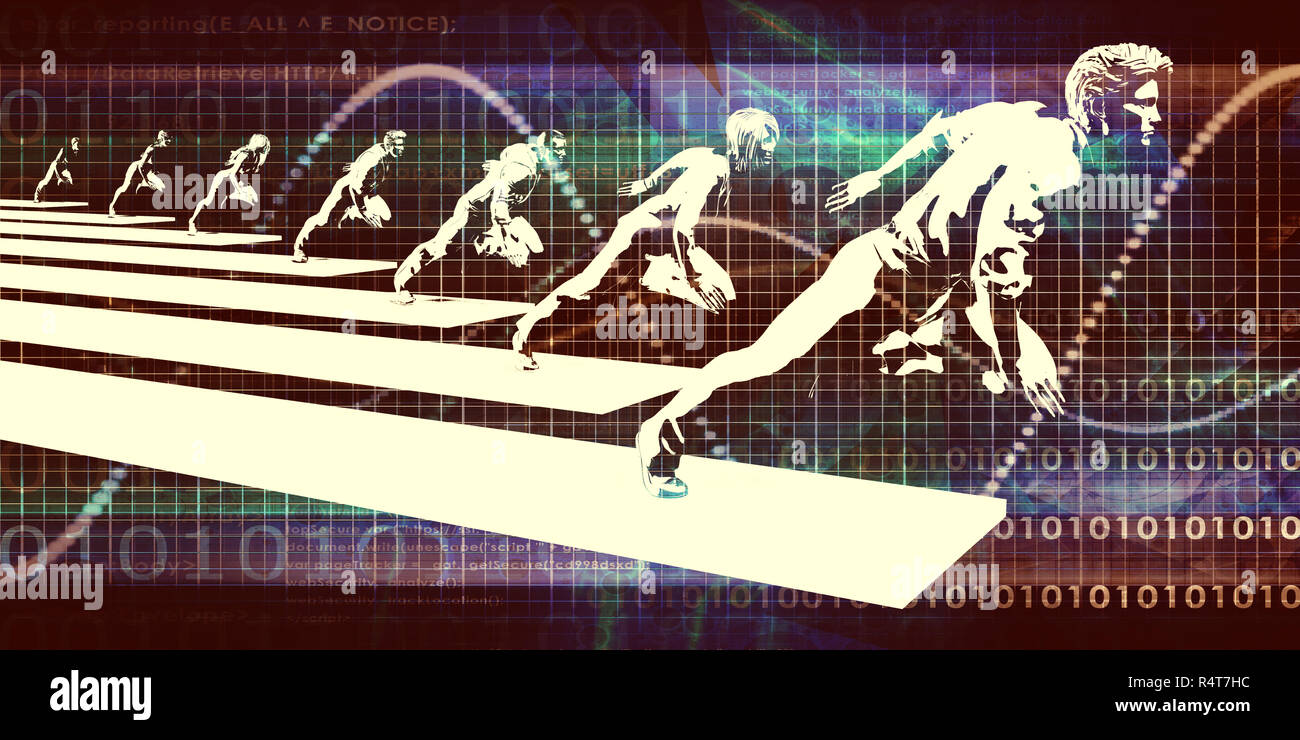 Evolving Technology - Stock Image