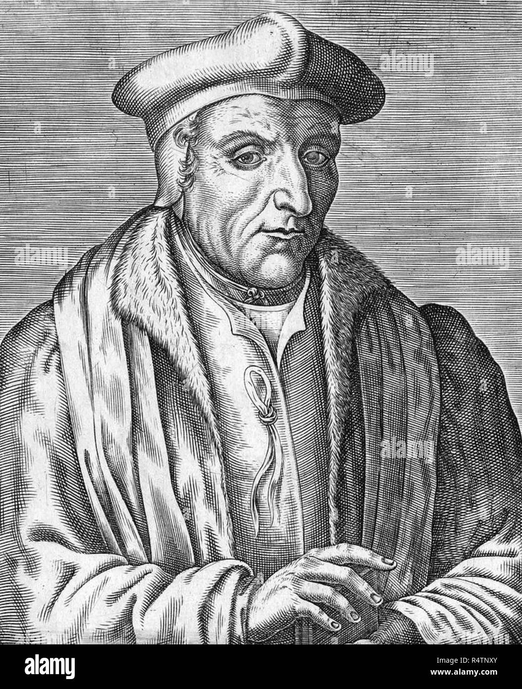 GUILLAUME BUDÉ (1467-1540) French scholar - Stock Image