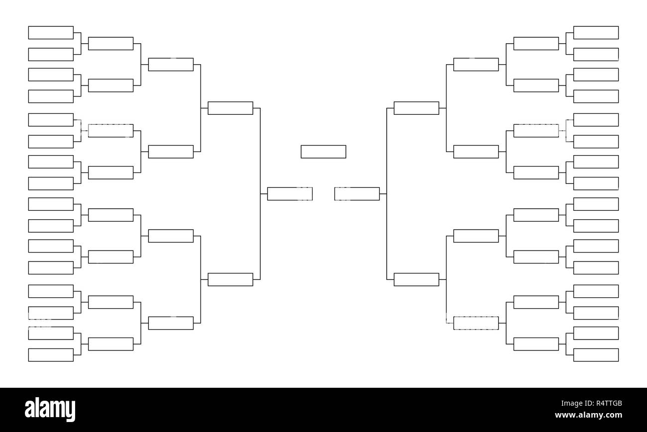Sports Bracket Template from c8.alamy.com