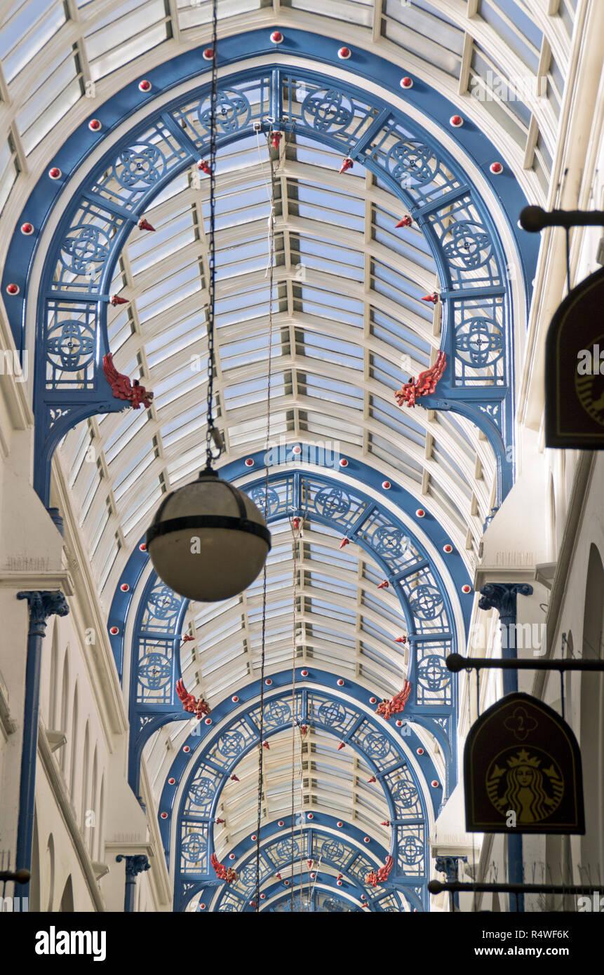 Thorntons Arcade Leeds - Stock Image