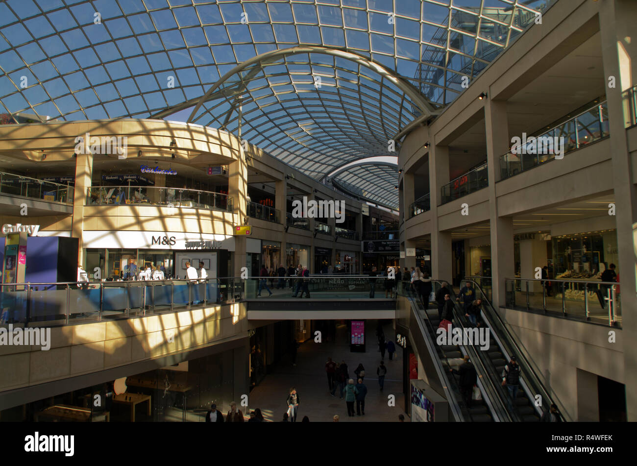 Trinity Leeds Shopping Centre - Stock Image