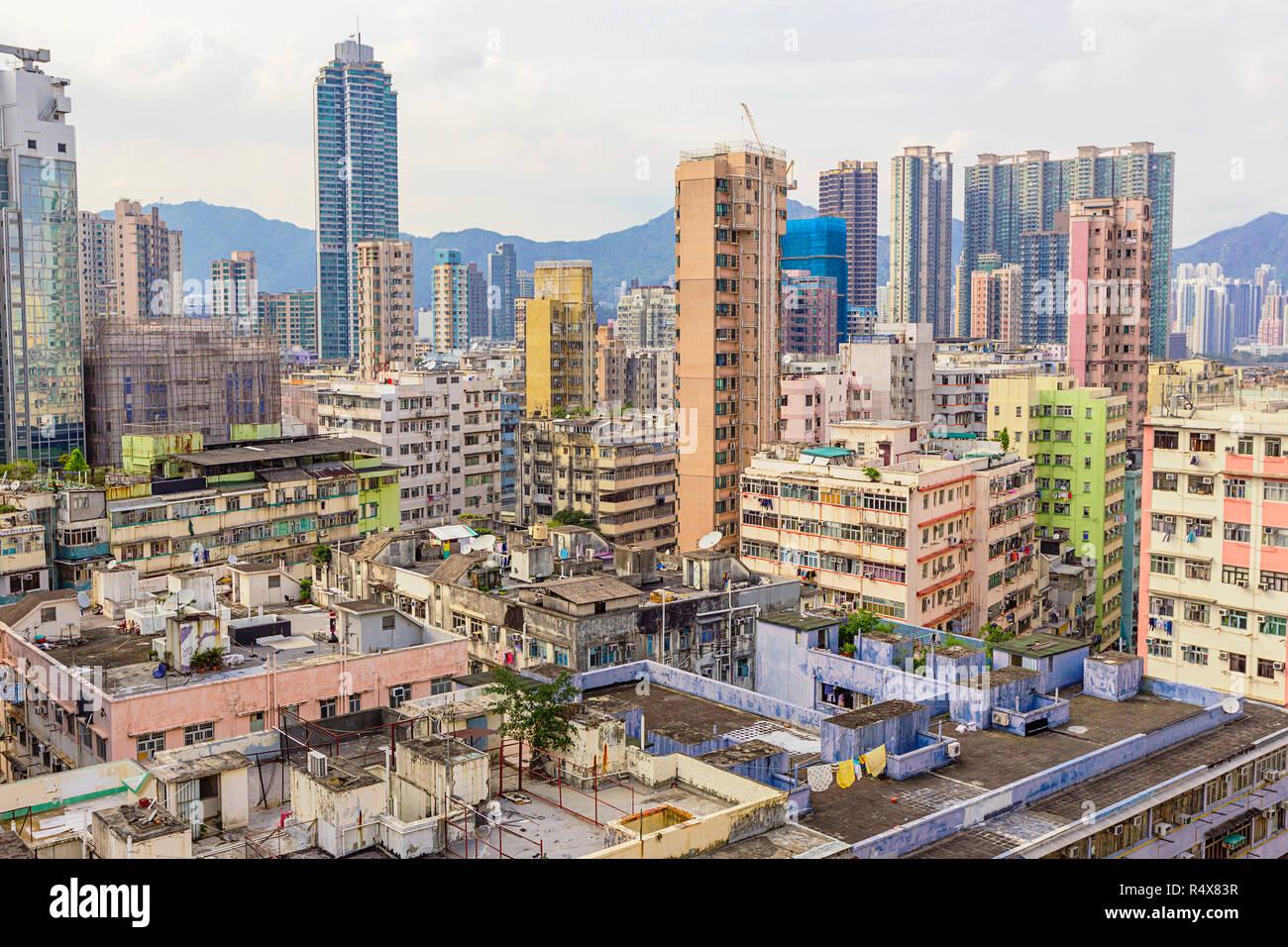 Downtown of Hong Kong - Stock Image