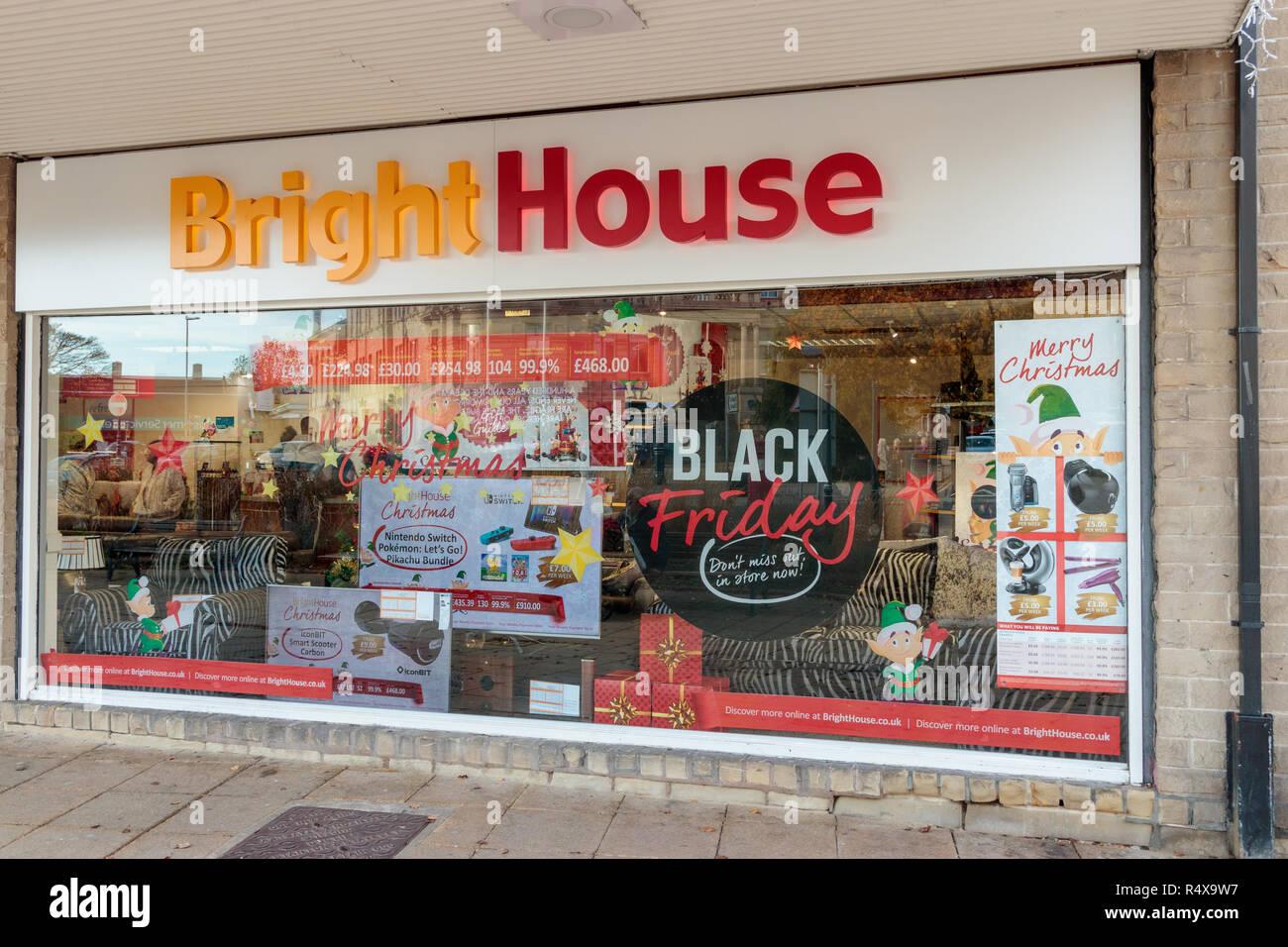 BrightHouse store, Longcauseway, Dewsbury - Stock Image