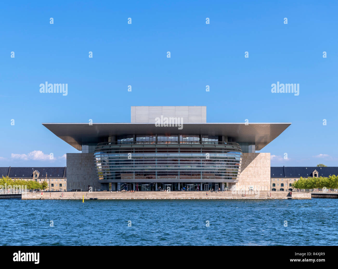 Copenhagen Opera House (Operaen),  Copenhagen, Denmark Stock Photo