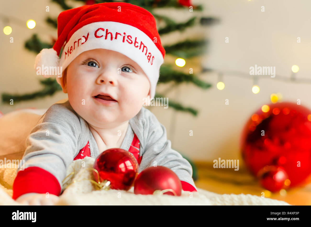 Christmas Baby Stock Photos Christmas Baby Stock Images Alamy