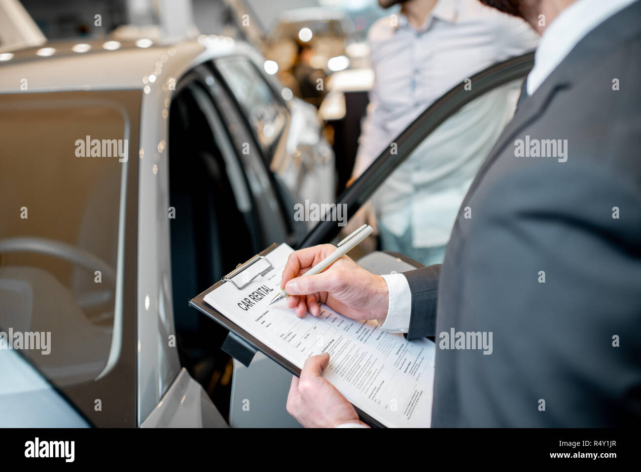 Car Rental Contract High Resolution Stock Photography And Images Alamy
