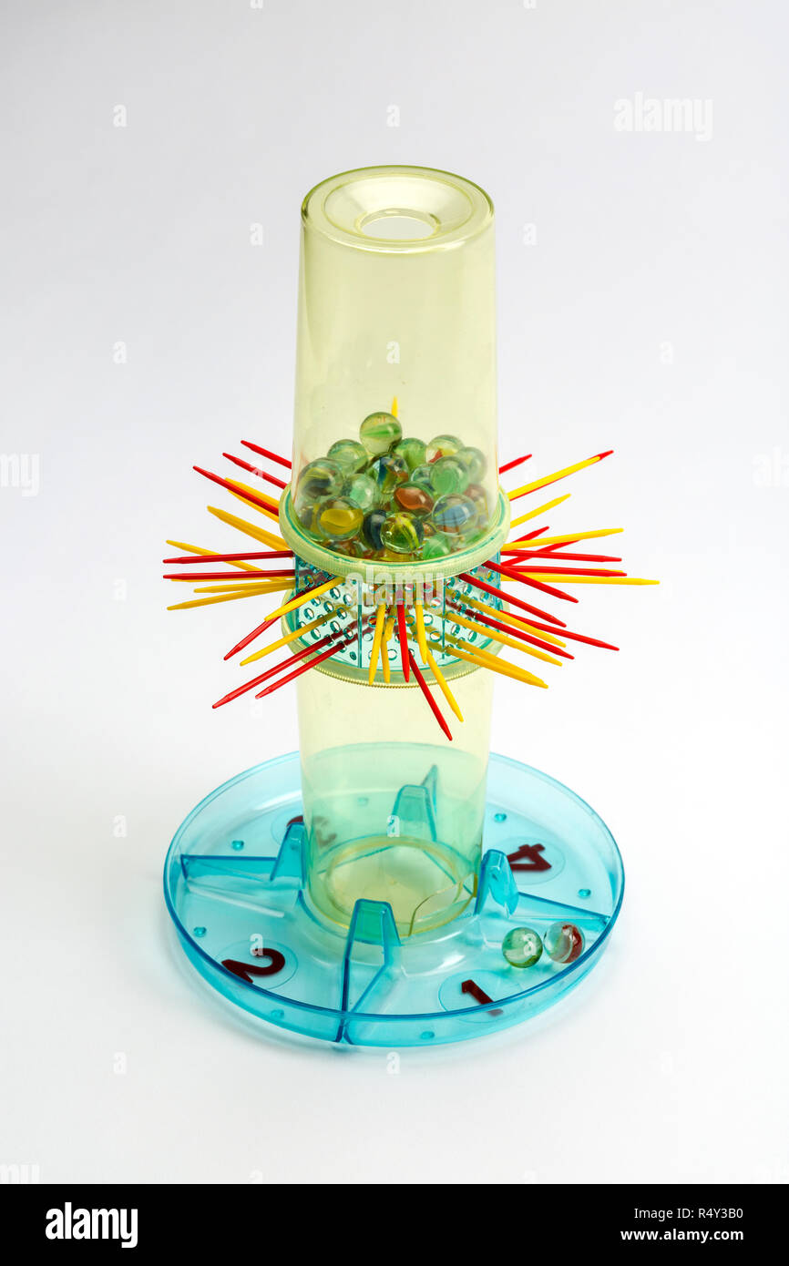 KerPlunk game created by Ideal Toy Company in 1967 - Stock Image