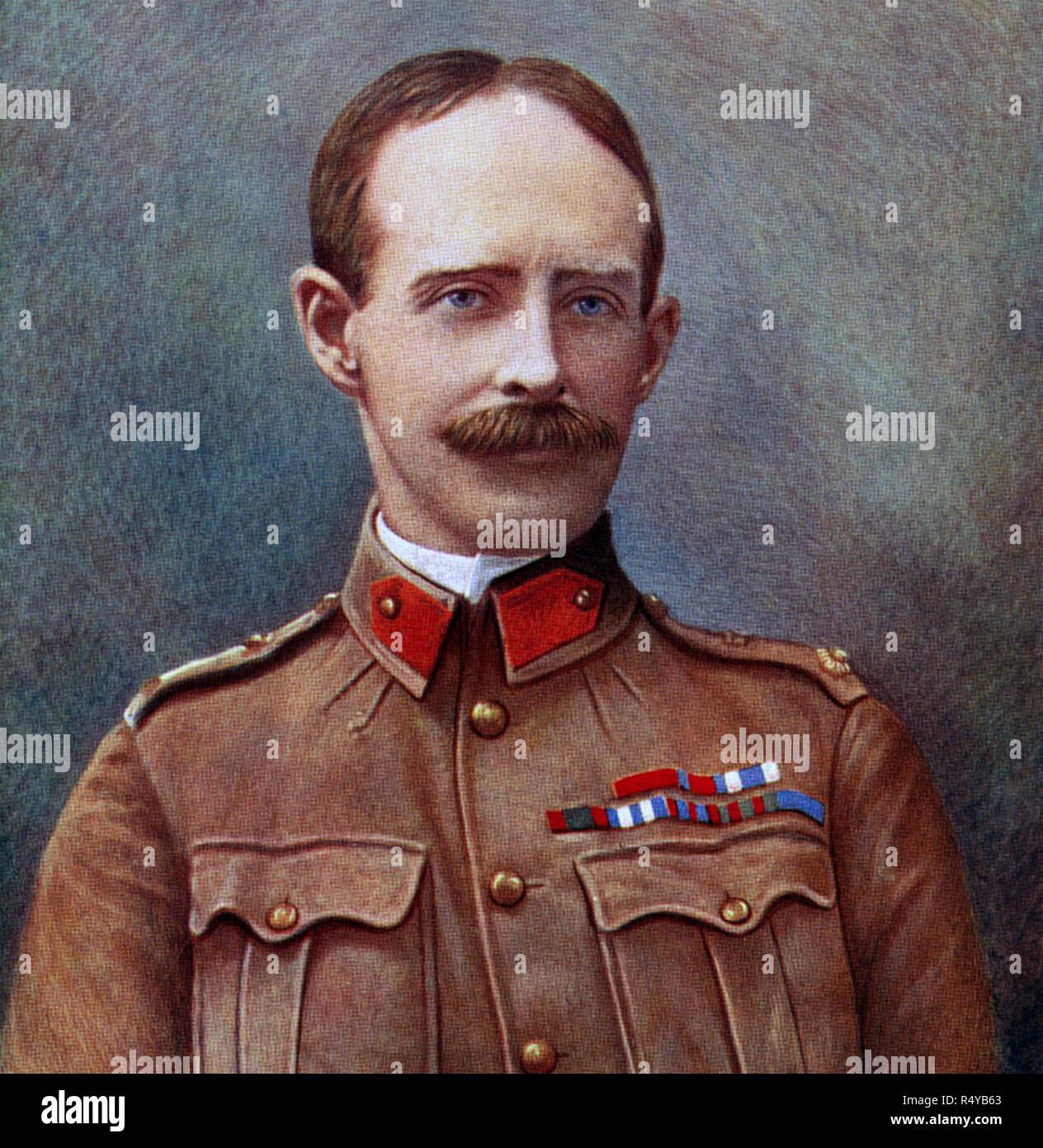 IAN HAMILTON (1853-1947) Senior British Army officer about 1900 - Stock Image