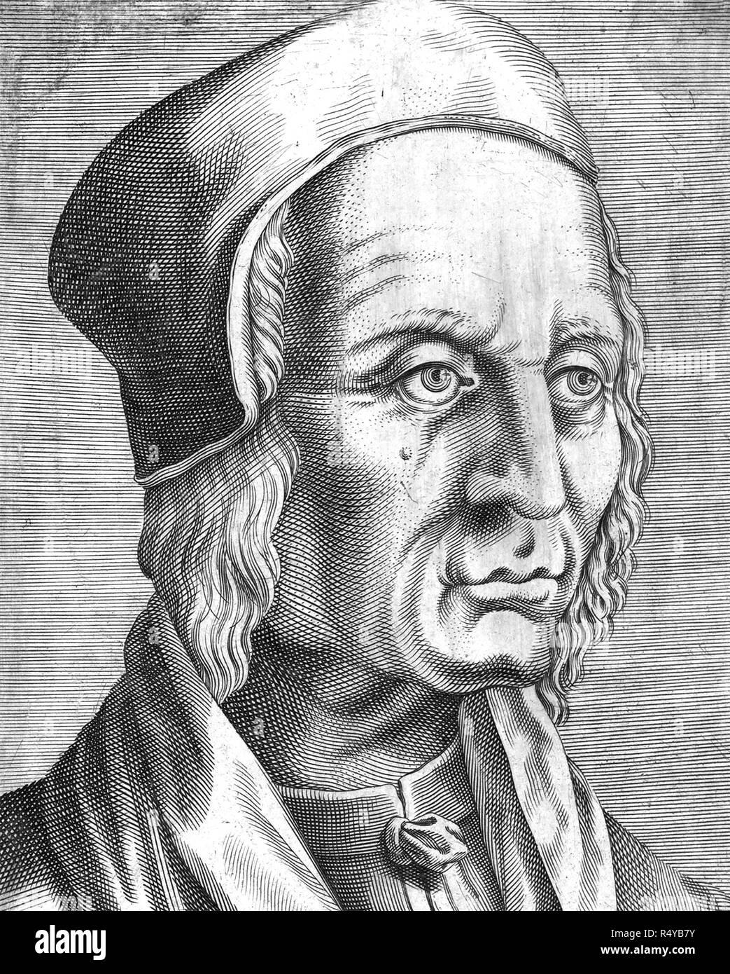FILIPPO DECIO (1454-c 1535) Italian jurist - Stock Image
