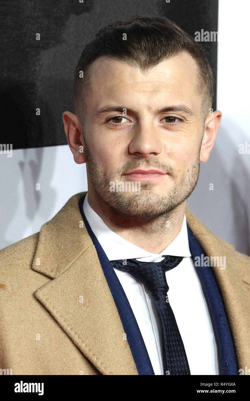 London, UK. 28th November, 2018. Jack Wilshere, Creed II - European Premiere, BFI IMAX, London, UK, 28 November 2018, Photo by Richard Goldschmidt Credit: Rich Gold/Alamy Live News - Stock Image