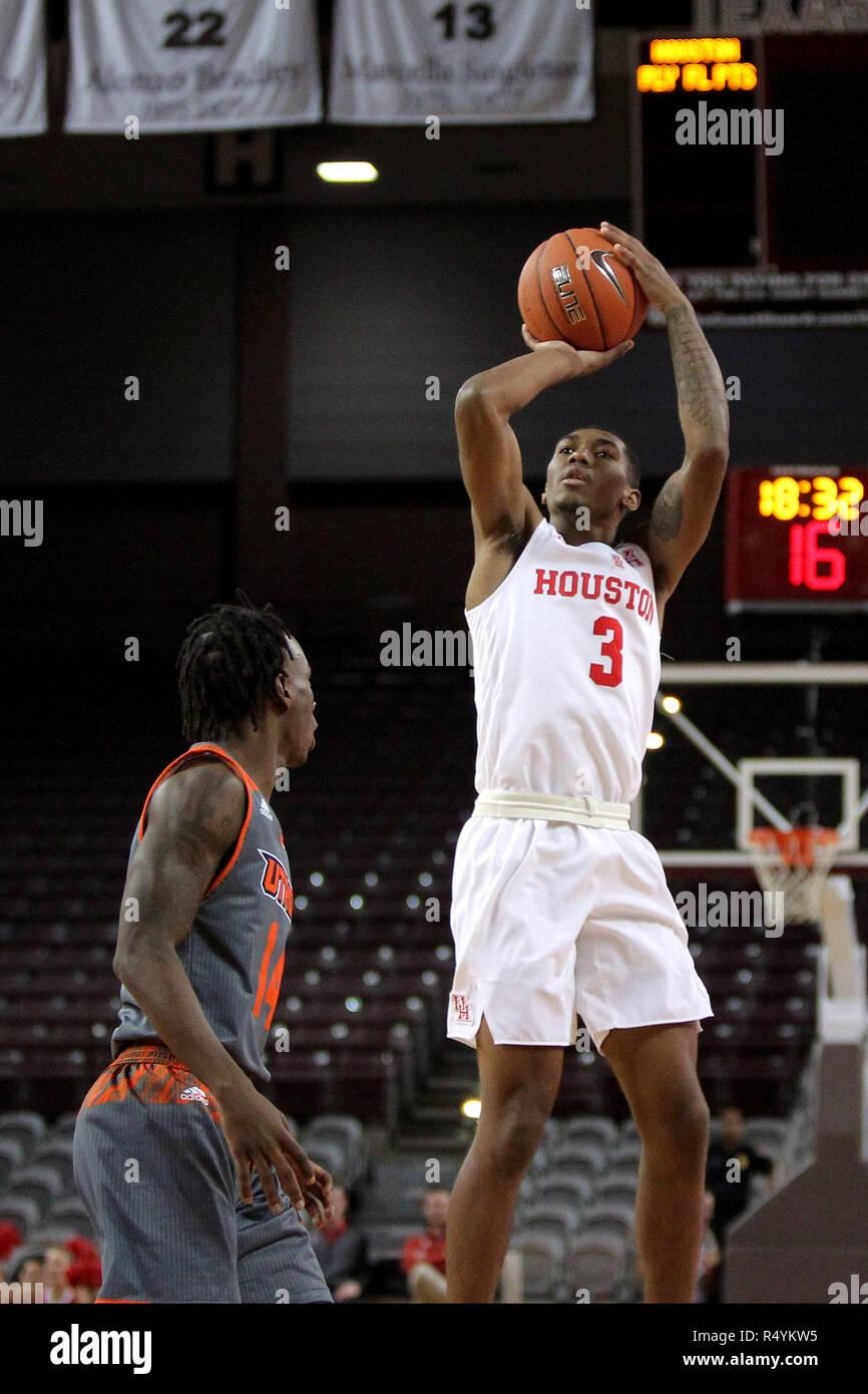 Armoni Brooks Houston Cougars Basketball Jersey - Black