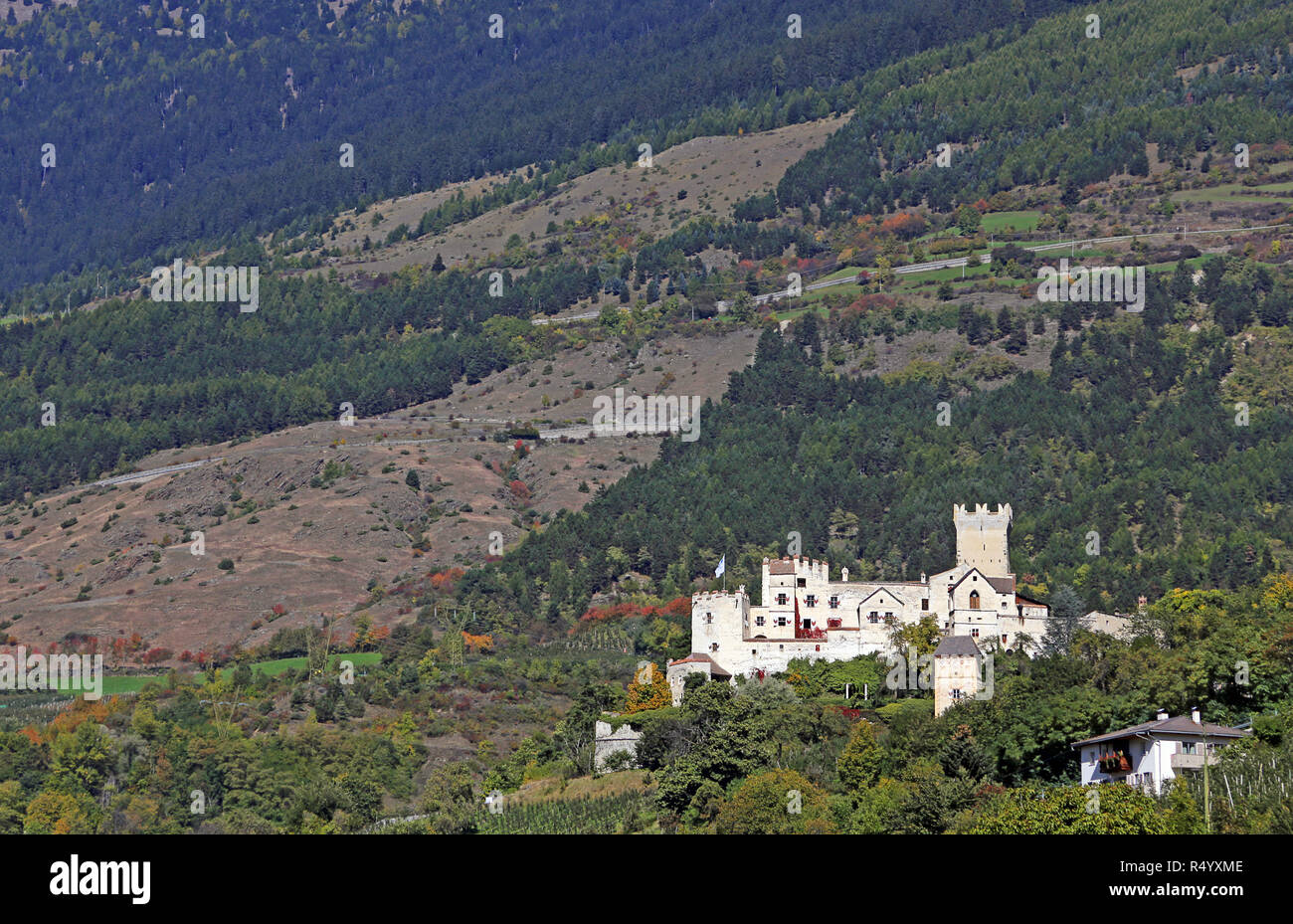 churburg near schlunders in south tyrol Stock Photo