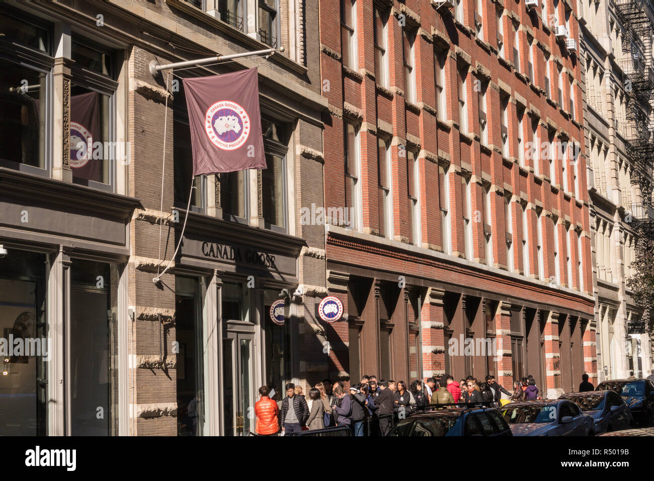canada goose store nyc